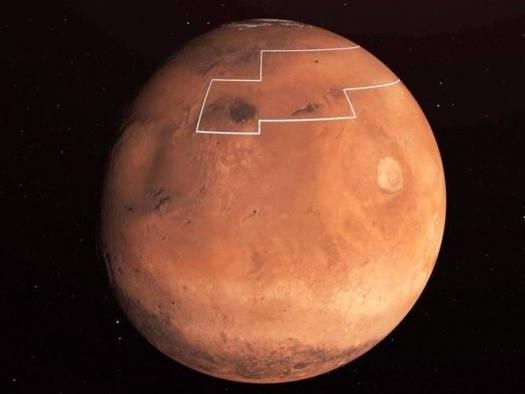 Astronautas em Marte poderão usar uma pá para acessar gelo subterrâneo; entenda