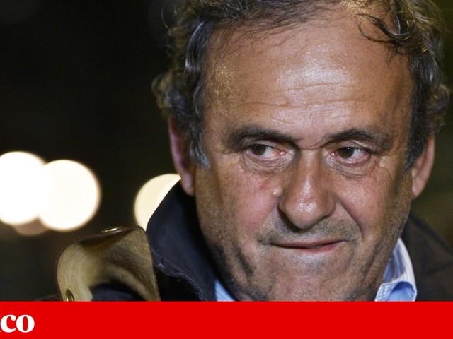 Platini saiu em liberdade depois de muitas horas de interrogatório