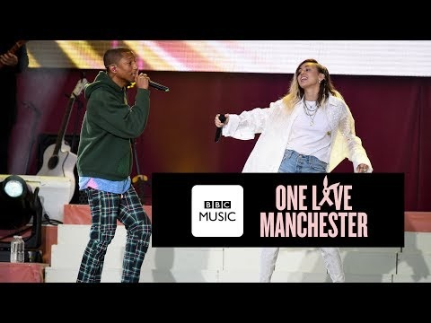 Miley no One Love Manchester: confira os vídeos