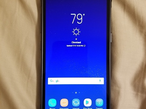 Galaxy S8 Active aparece com tela plana e bateria maior