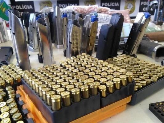 Polícia investiga se fábricas clandestinas de munição abasteciam facção