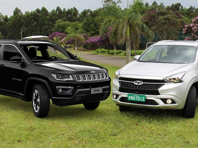 Jeep Compass x Chery Tiggo 7 2019: comparativo - preços