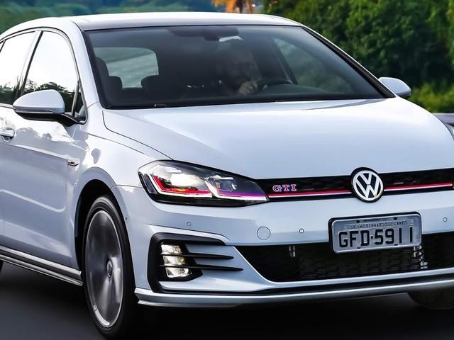 VW Golf já vendeu mais de 1.000 unidades no Brasil em 2019