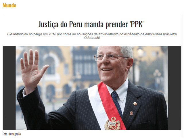 Justiça do Peru manda prender PPK e Doutor Bumbum encarou a 1ª Vara ontem