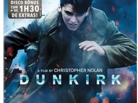 Detalhes do Blu-ray duplo de DUNKIRK no Brasil