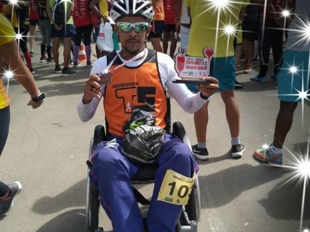 Paratleta morre atropelado durante competição em cidade baiana