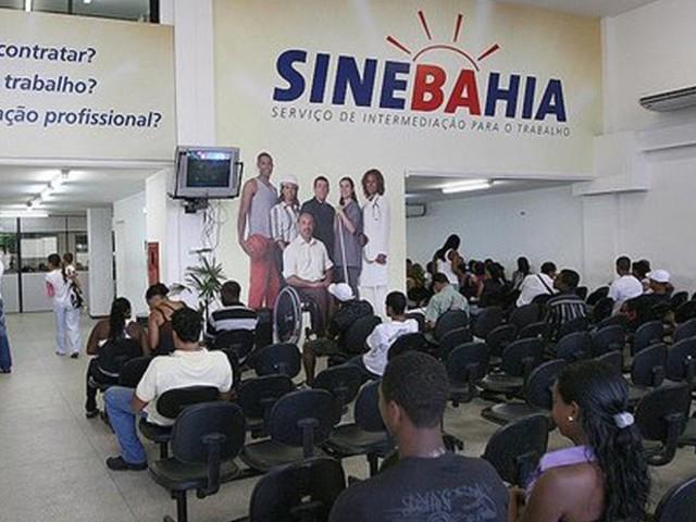SineBahia oferece 242 vagas para o dia 16 de outubro, quarta-feira; confira