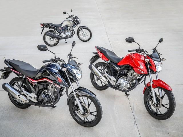 Veja as motos mais vendidas de 2019