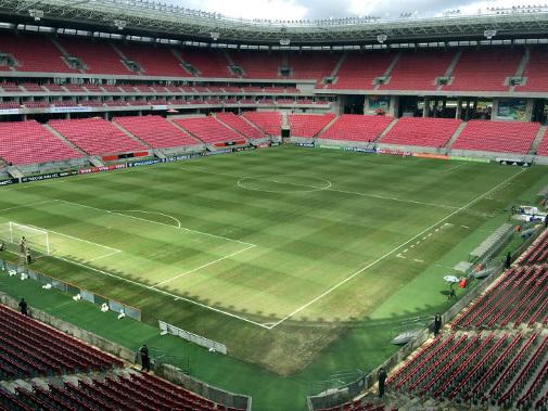 Arena Pernambuco, o palco da decisão do Estadual de 2018. A 70ª final da história
