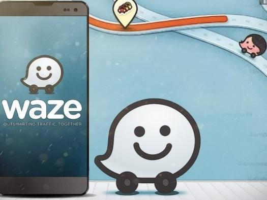 Nova função do Waze permite escutar músicas e podcasts sem sair do app