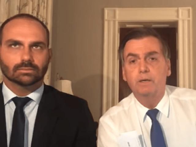 Jair Bolsonaro indica filho para ser embaixador do Brasil nos EUA