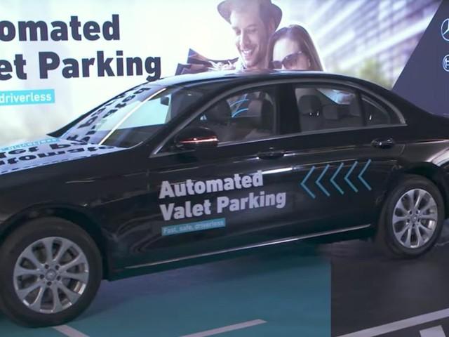 Adeus valet: Mercedes e Bosch apresentam o primeiro estacionamento autônomo