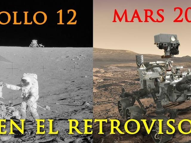 Mars 2020, tras las huellas de Apollo 12