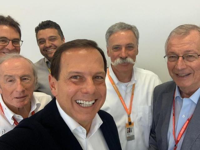 Doria anuncia encontro para renovação da Fórmula 1 em São Paulo