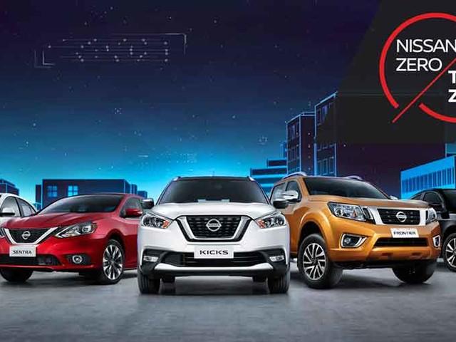 Marca japonesa lança ação de vendas Nissan Zero, Taxa Zero