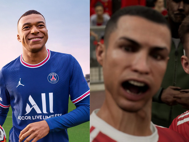 FIFA 22 dribla eFootball e registra 10 vezes mais jogadores no PC