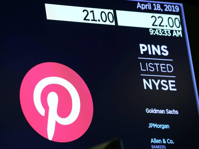 Pinterest é avaliada em R$ 49,8 bilhões em oferta pública inicial de ações