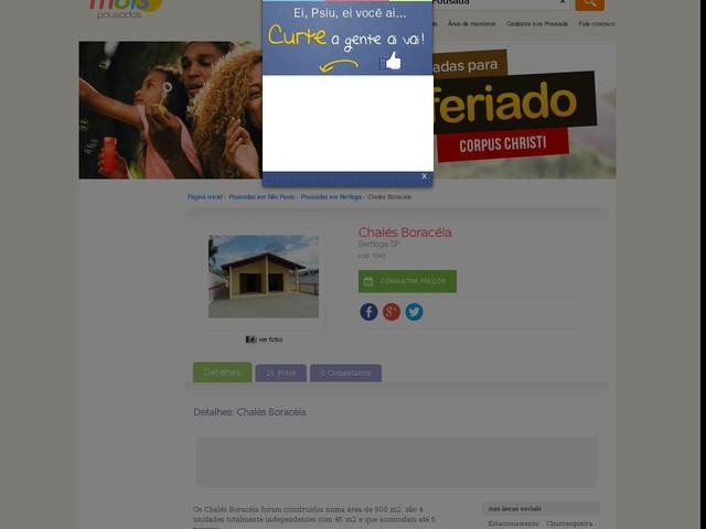 Chalés Boracéia - Bertioga - SP
