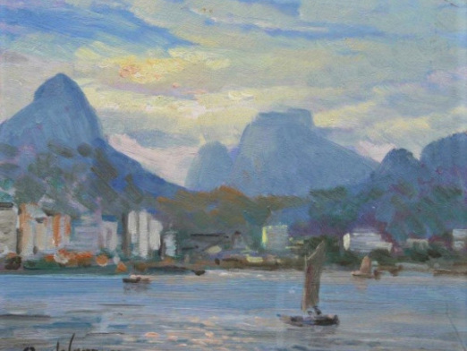 Rio de Janeiro à beira da Guanabara