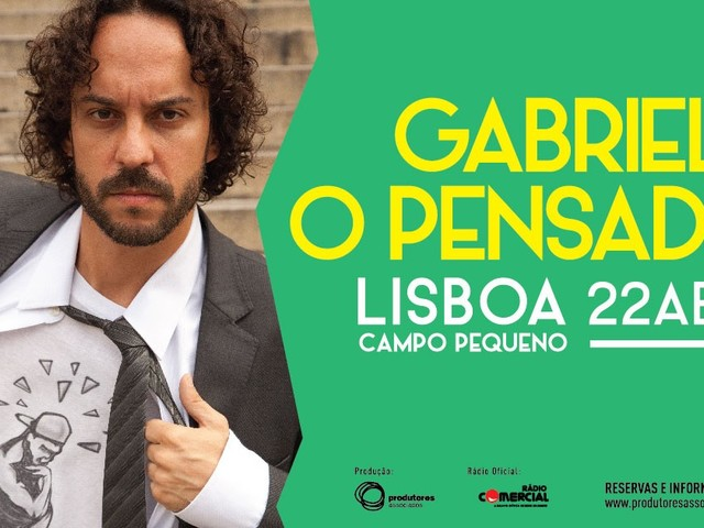 Gabriel, O Pensador em Lisboa