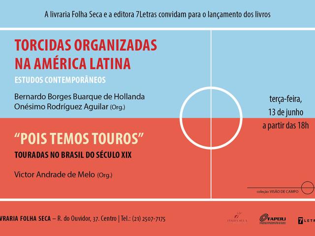 """Lançamento: """"Torcidas Organizadas na América Latina"""""""