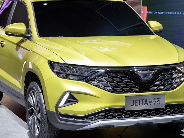 Jetta VS5: novo SUV do Grupo VW mostrado em Shanghai