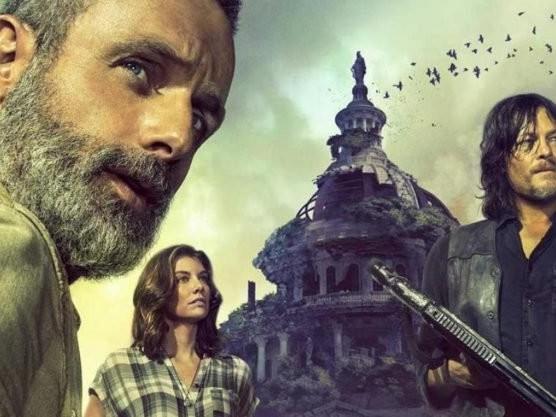 The Walking Dead lidera ranking de pirataria em ano sem Game of Thrones