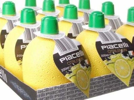 Sanidad lanza una alerta para que personas alérgicas no consuman un helado de fresa y un zumo de limón