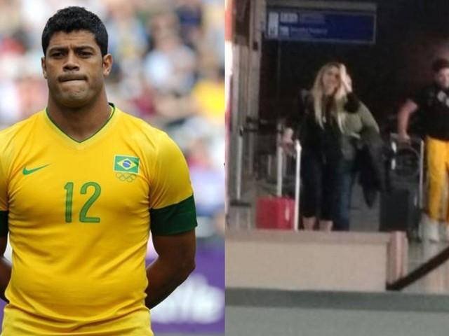 Por vacilo da sobrinha, Hulk tem primeira foto romântica ao lado de namorada vazada