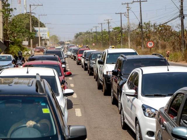 Frota de veículos do Amapá sobe 5,1% em 2019 e ultrapassa pela 1ª vez as 200 mil unidades