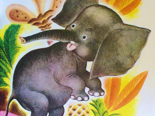 O elefantinho, poesia infantil de Vinícius de Moraes