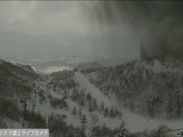 Erupção de vulcão e avalanche matam 1 e deixam 11 feridos no Japão