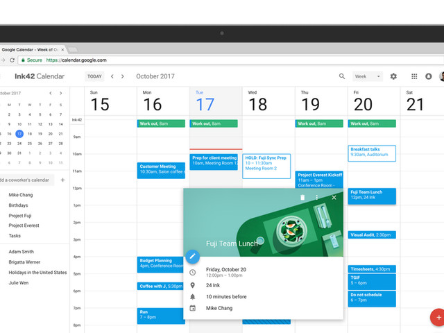 Google Agenda ganha nova interface com Material Design na web