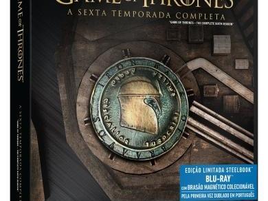 Agora sim! TODOS os SteelBooks de Game of Thrones em Blu-ray no Brasil