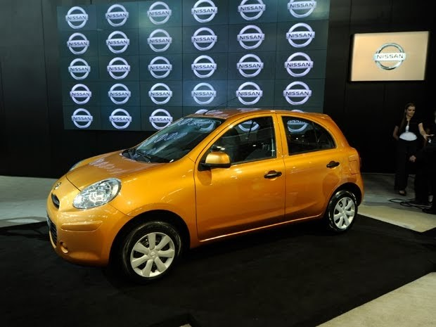 Salão de SP: Nissan apresenta seu primeiro carro popular