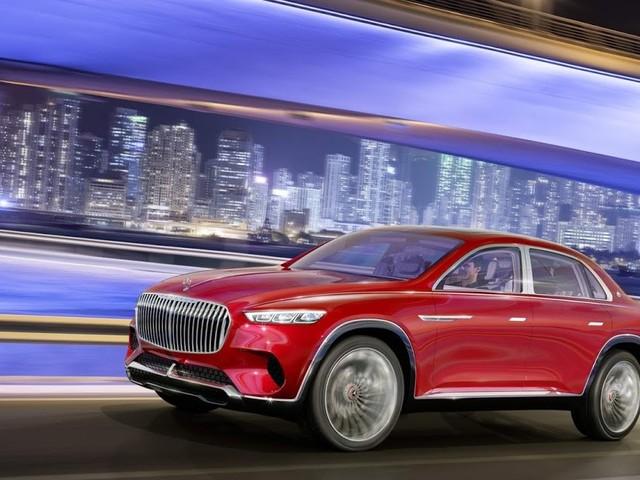Mercedes-Maybach Ultimate Luxury Vision: SUV sedã EV