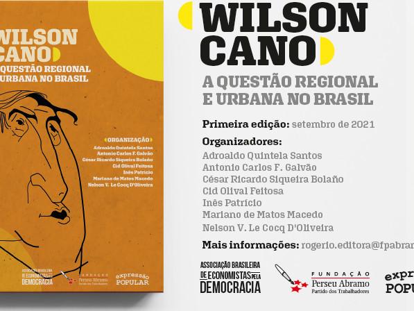 Wilson Cano: Questão Regional e Urbana no Brasil – Baixe o Livro