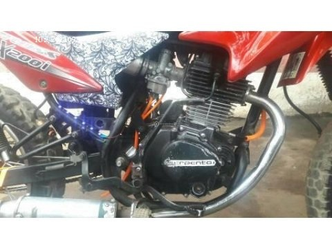 Bonita moto Montañera
