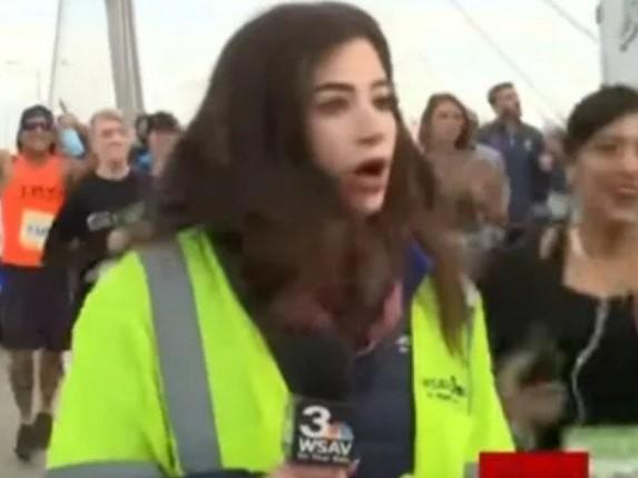 Constrangedor! Jornalista sofre assédio enquanto grava programa ao vivo e faz triste desabafo