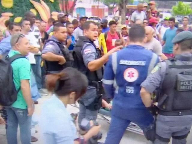 Tiroteio no Centro de Manaus deixa ao menos 3 baleados; 2 suspeitos são presos