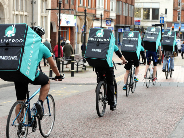 Amazon investe em rival da Uber Eats