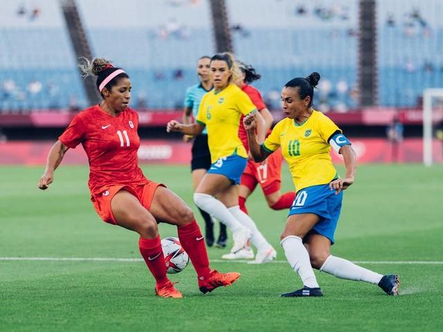 Olimpíadas: Brasil perde nos pênaltis para o Canadá e é eliminado no futebol feminino