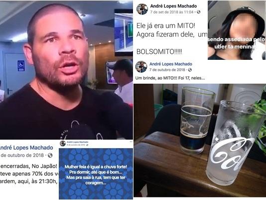 """Motorista que assediou menor de idade chamou Bolsonaro de """"Deus"""""""