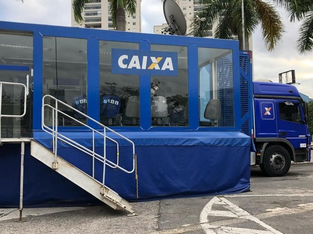 Caminhão da Caixa encerra mutirão de negociação na quinta-feira, 21