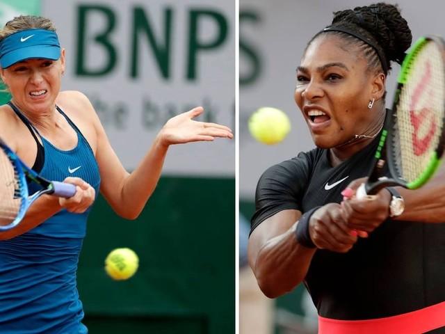Serena e Sharapova vão se enfrentar pela primeira vez no US Open