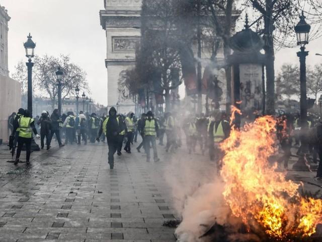 Protestos na França tiveram mais de 1.700 interpelados e 1.220 presos