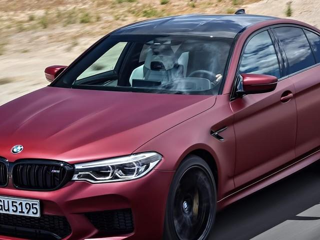 BMW M5 2018 xDrive: detalhes e especificações - vídeo