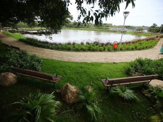 Após revitalização, Alvorada inaugura parque da Lagoa do Cocão