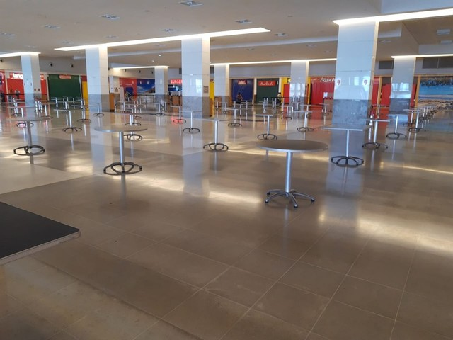 Prefeitura de Natal autoriza reabertura de praças de alimentação e permite que shoppings operem com até 50% da capacidade de ocupação