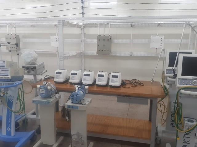 Coronavírus: professores do AP fazem conserto de 14 respiradores danificados para prevenção